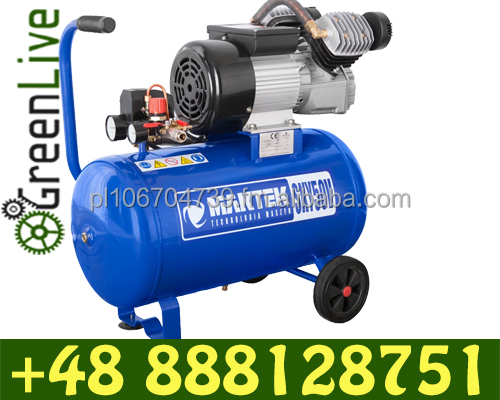 3hp 50L direct driven air compressor 2 piston 8bar ac power 230V 220l/min