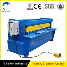 china supplier good quality Q11 electric sheet metal shears mechanical cutting machine