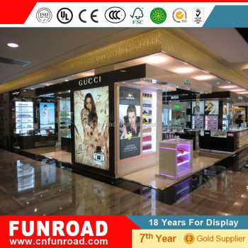 Funroad New Arrival Perfume Display kiosk
