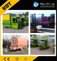 best selling popupar business mobile kitchen trailer mobile food cart