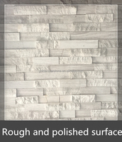 natural stone rough surface and flat surface stone for exterior wall cladding (culture stone)