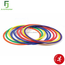 Soccer Sport Speed & Agility Training Flat Hoop Ring Set