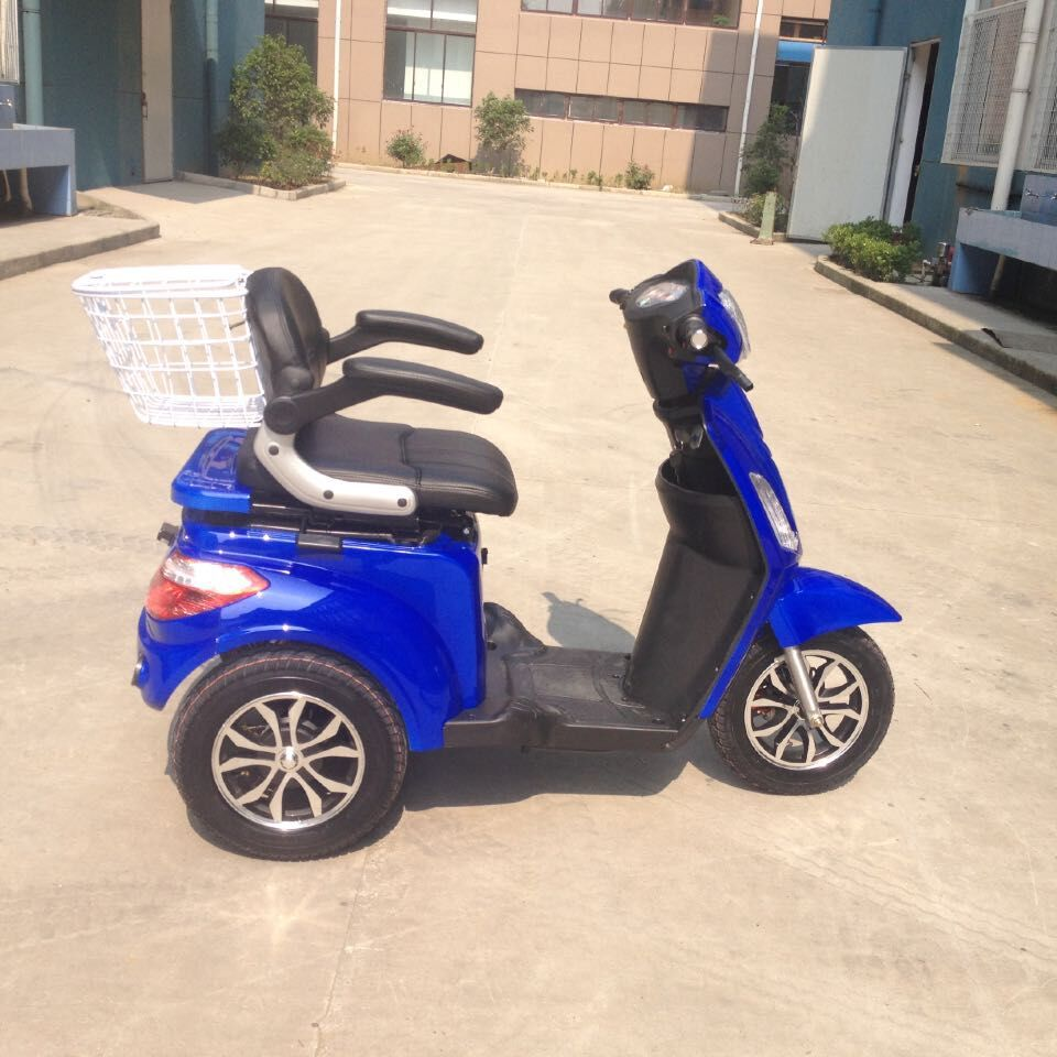 old or disabled electric three wheel escooter with ONE SEAT, made in GUOWEI China