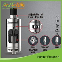 2016 Newest Kangertech Protank 4 clearomizer Protank 4 tank updated mini protank 3