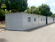 Foldable mobile pre-fabricated office container iso container office in jakarta