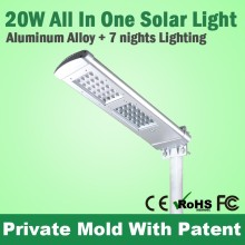 Ce Rohs Approval High Power Outdoor Solar Led Street Lighting Solar Power Lamp