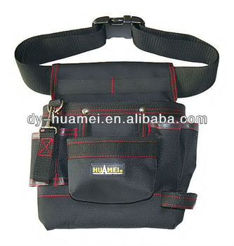 Polyester Electrician Single Garden Tool Belt Bag