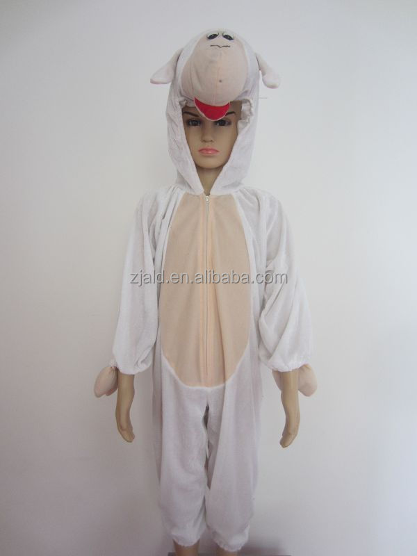1pc polyester goat sheep animal baby costume