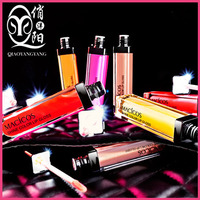 OEM High Quality Lip Gloss With Mirror And LED Light lipstick moisturizing long last moisten