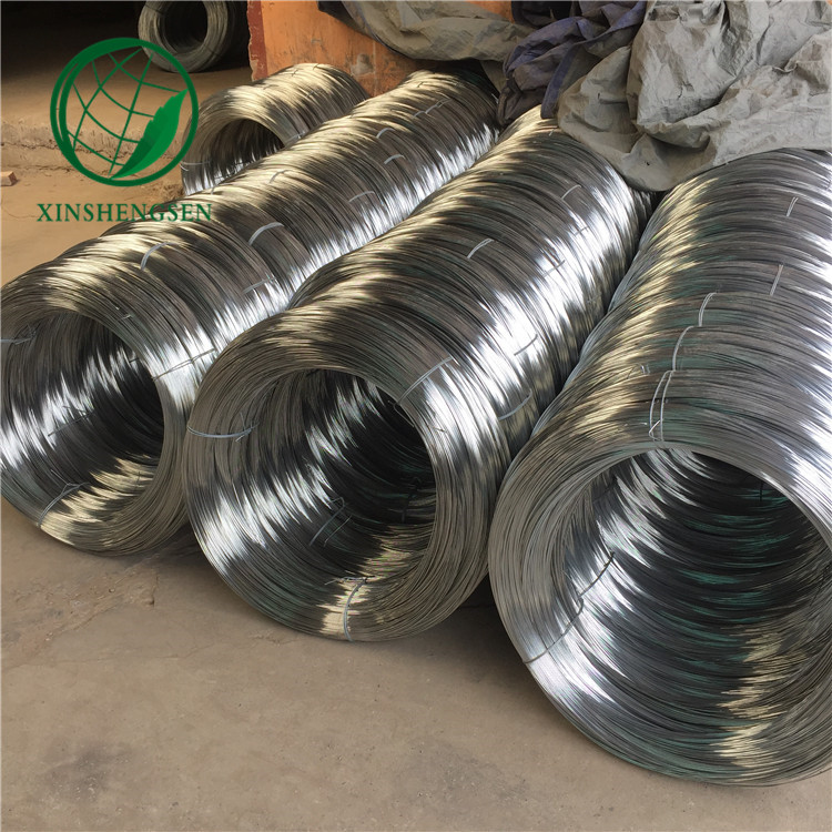 10 gauge galvanized hard drawn steel wire / cold drawn wire