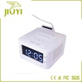 safe material Bluetooth alarm clock bluetooth speaker