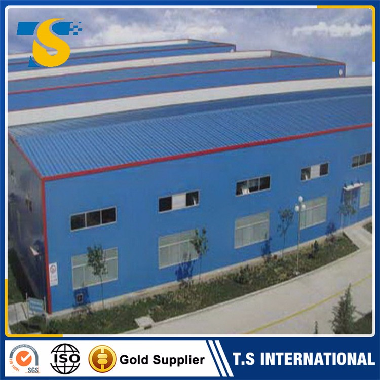 Low cost stable pu sandwich panel warehouse