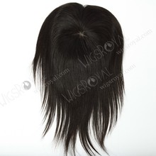 Most popular natural color human 3 part silk base lace closure