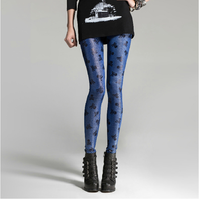shiny black horse horse wool professional leggings tights