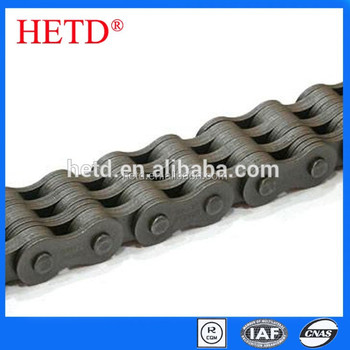 HETD brand Conveyor Motorcycle Stainless Steel Roller Leaf Chain transmission parts
