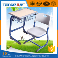 Tengya Eco -friendly PP Modern School Supplies Wholesale Children Desk and Chair