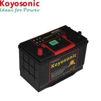 12V 80AH Good Quality Lead Acid Starting Sealed Maintenance Free Car Battery with Lead Calcium Technology