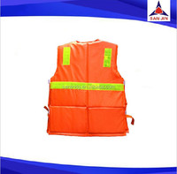 Fishing vest life jacket Neoprene fishing jacket Average size safe vest colorful vest
