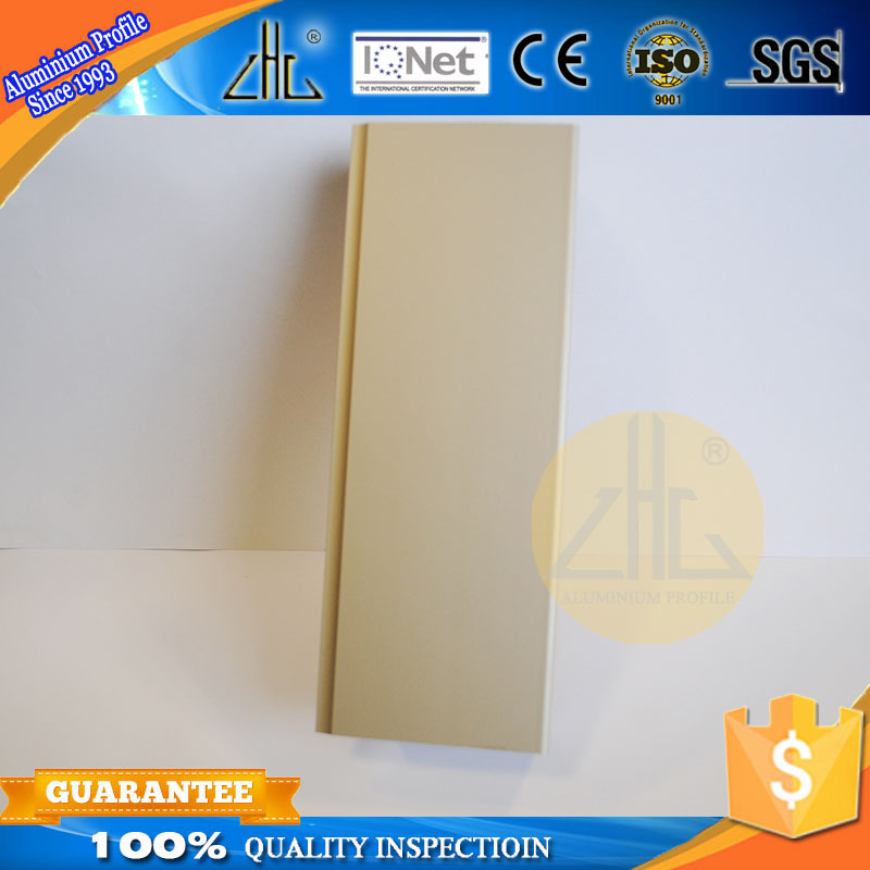 Hot! FOB Guangzhou aluminium ingot specification 6063-t5 casement frame aluminum profile for wardrobe door