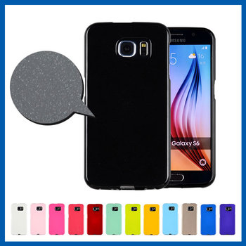 C&T Fashion bling tpu gel rubber soft skin protective case cover for samsung galaxy s6
