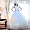 S21486 Top-Bride Real Photo Ball Gown Tulle Wedding Dress