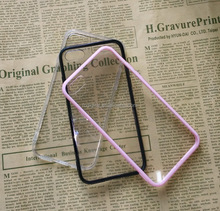 Factory Wholesales crystal transparent acrylic PC+TPU Mobile Phone Cases fo i7 i8 Series