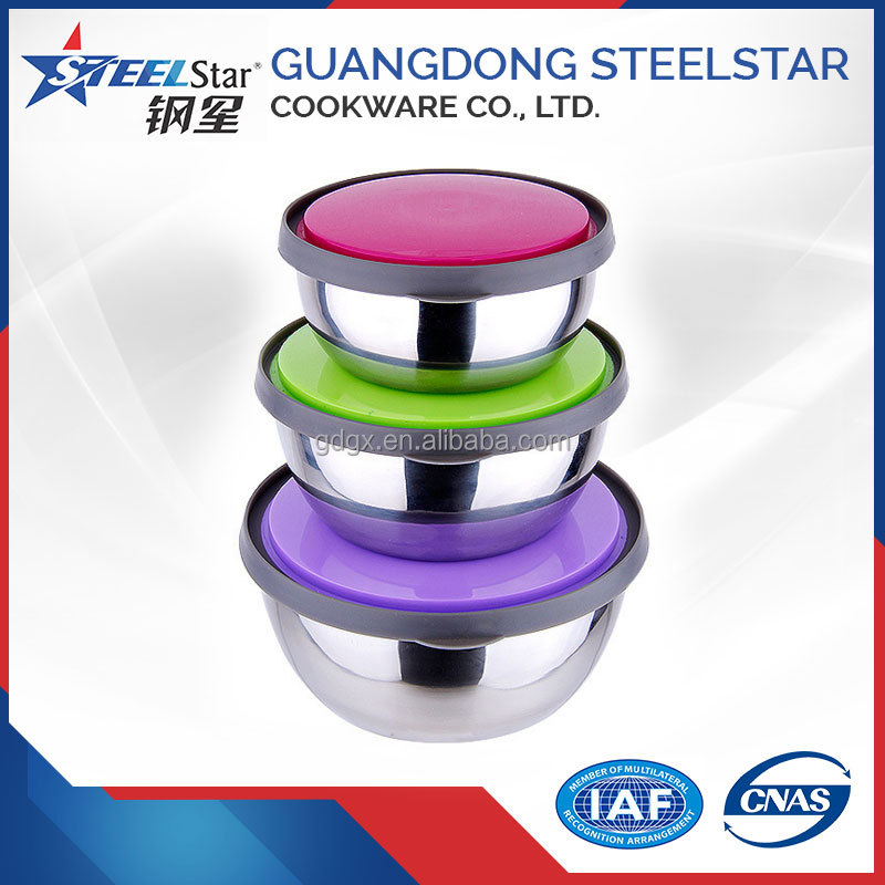 Stainless Steel Round Food Storage Bowl/Thermal Sealed Bowl/Food Container