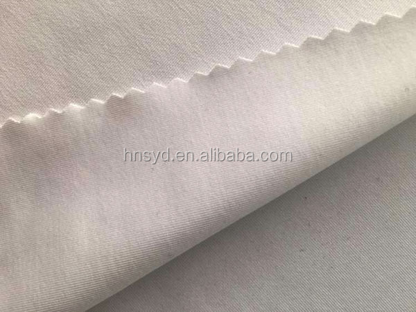 semi dull 73% polyester 27% spandex weft knitting fabric
