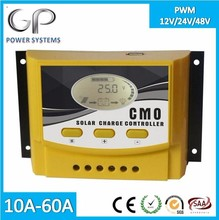 [GP-CMO]Cheap PWM Solar Charger Controller 50A 60A for home solar power systems china factory