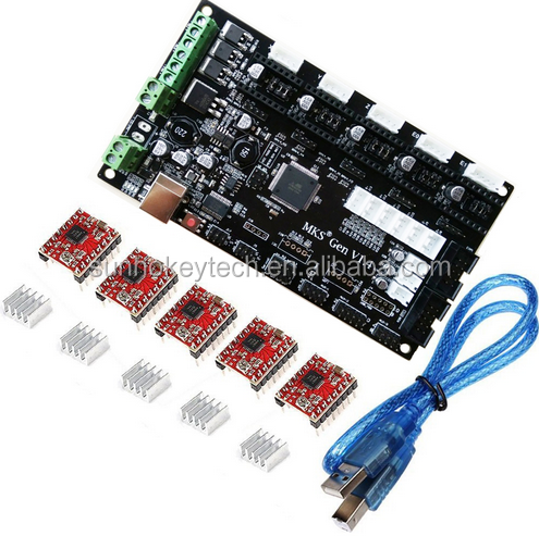 MKS Gen V1.4 3D printer controller board +5PCS A4988 stepper driver