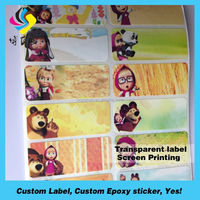 Waterproof electronic paper price labels printing