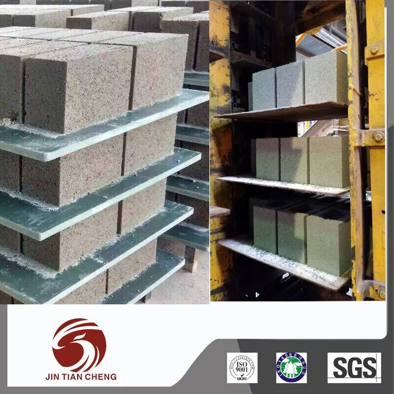 Eco-friendly pvc plastic pallets for concrete block