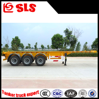 Self Loading 40ft Container Trailer Price