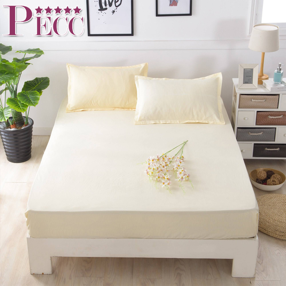 Well Selling Hotel White Color Waterproof Cotton Mattress Protector