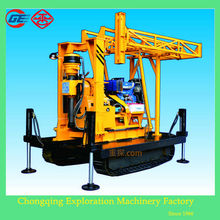 2014 newly wholesale price GX-1TDL crawler rotary hydraulic core down the hole hammer drill rig