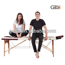 Sales from Stock Foldable Massage Table with Wooden Legs
