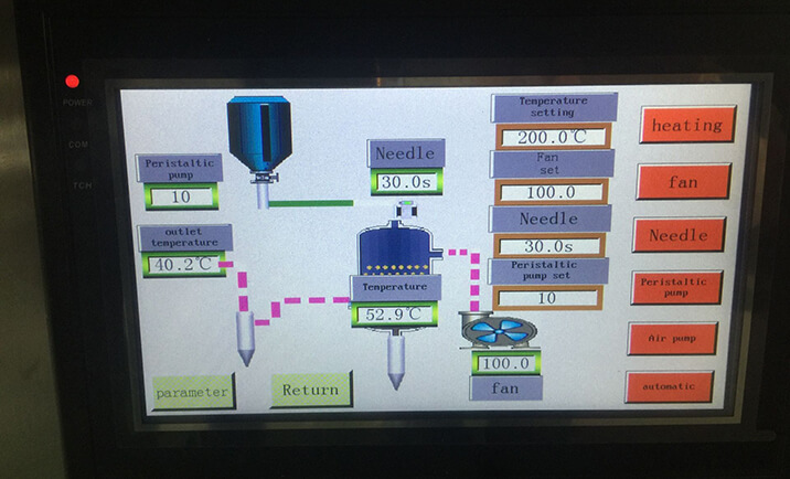 spray drying machine PLC control system
