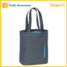 Wholesale New Recycle Fashion Denim Tablet Tote Bag