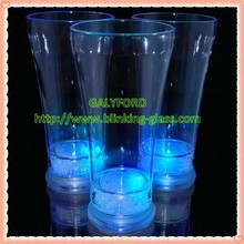 factory hot sale led Flashing pilsen cup plastic Flashing juice cup