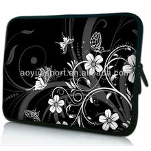 Neoprene Notebook/Laptop Cover Pouch with printing