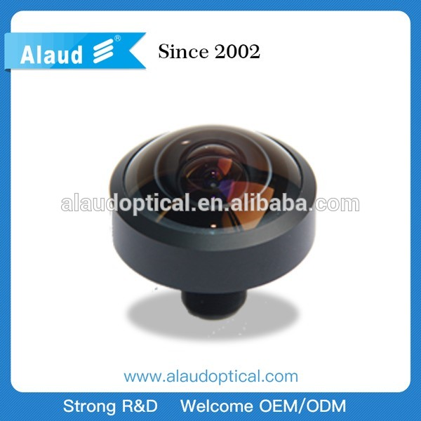 1.05mm 245 degree 10mp m12 fisheye lens for projector