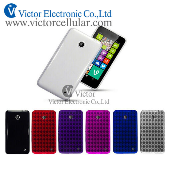 NEW Mobile phones tpu S line case for NOKIA 630/635 metro pcs/T mobile
