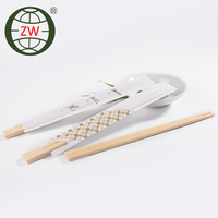 Disposal Tableware Twins Bamboo Chopstick For