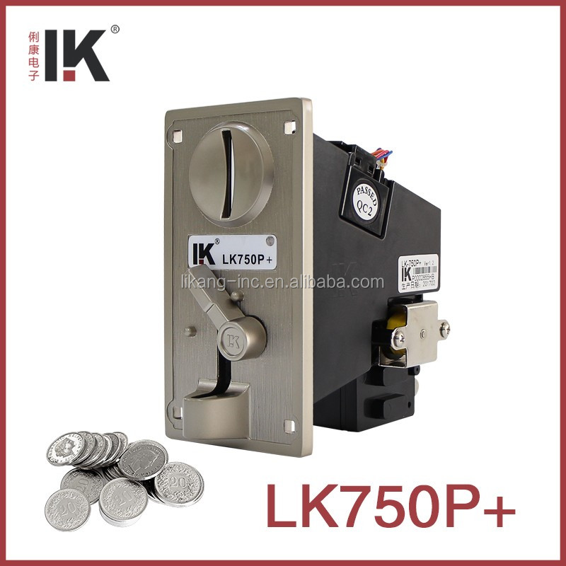 LK750P+ Coin acceptor for classic mini football arcade