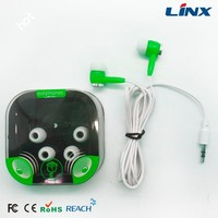 fashionable funny cute design earbuds for mp3