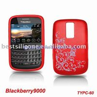 silicone case for blackberry 9000,blackberry 9000 silicone skin,cell phone covers for blackberry 9000(TYPC-60)