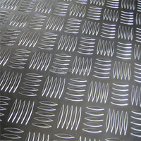 Embossed aluminum 5052 O roll of aluminum diamond plate 2mm thick 5052 O aluminum checker sheet
