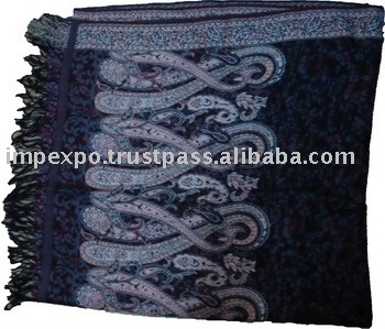 Ladies Shawls (Item No.IMPEXPOWARMSHAWL204)