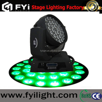 FYI hotselling concert lighting 36*15W moving head rgbwa wash stage light