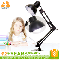 Home Office Use Usb Iron Body Folding Ready And Working Table Light Children Desk Lamp Led